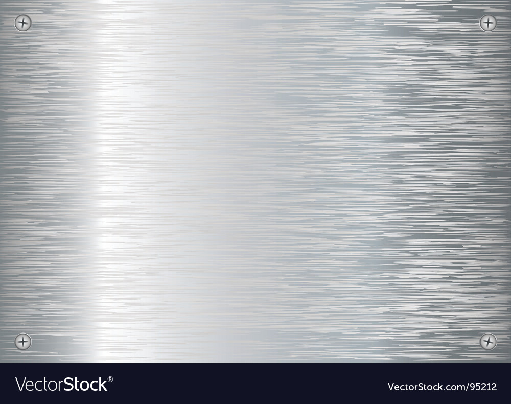 Brushed silver