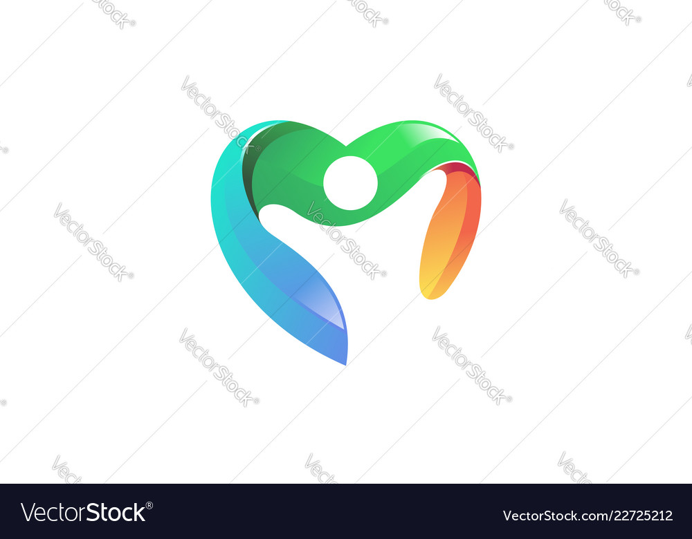 People heart logo