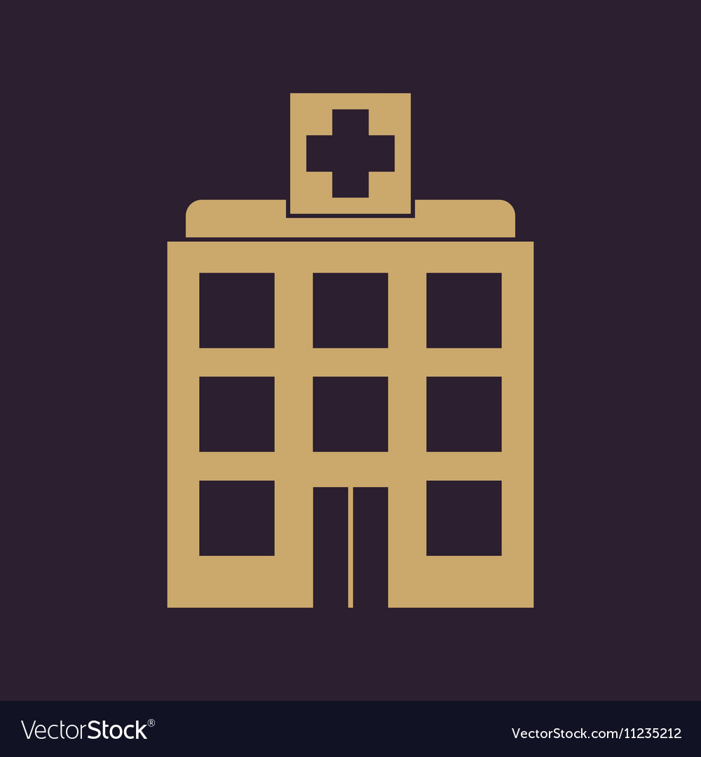The hospital icon Medical and ambulance