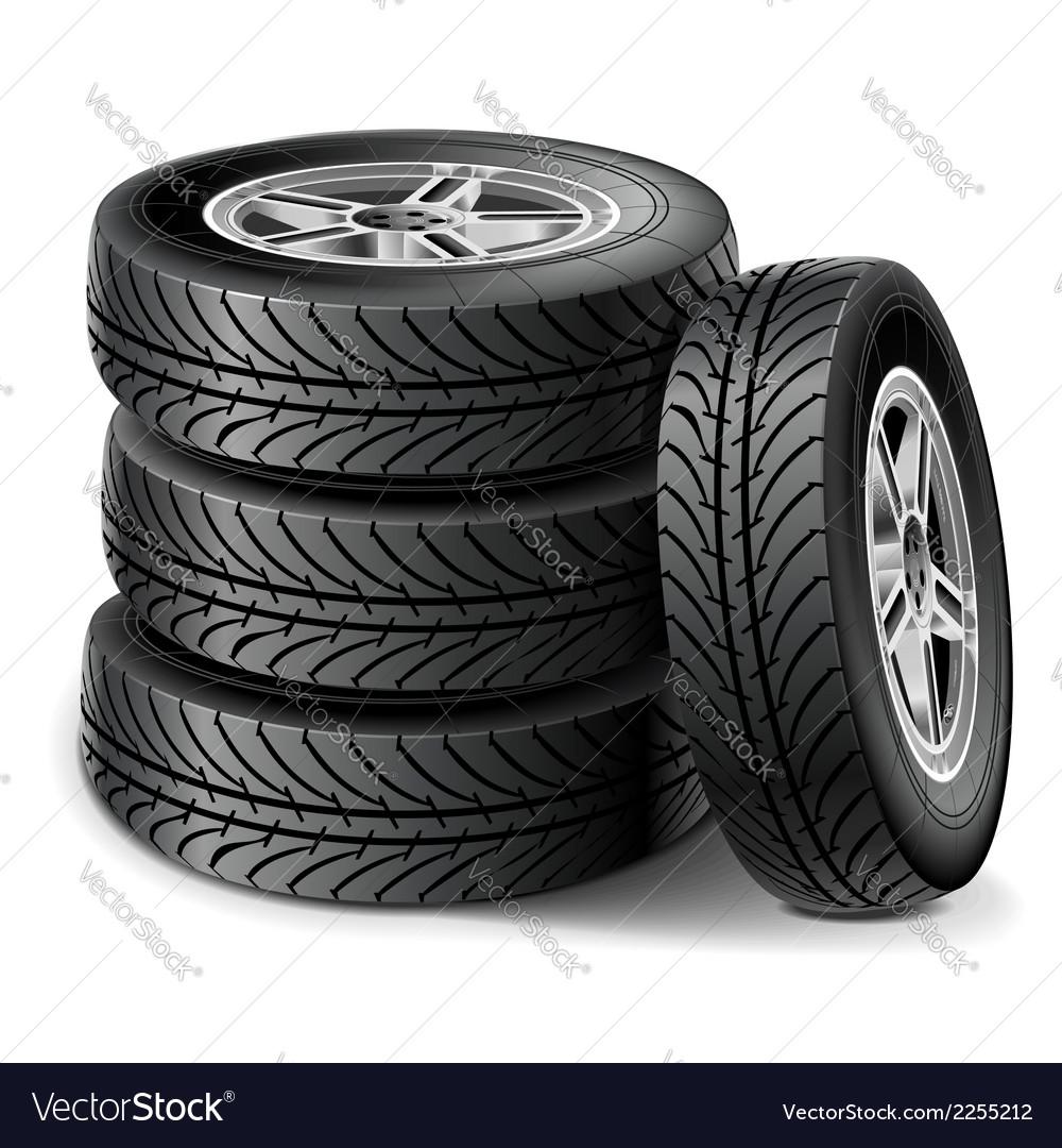 Tire set