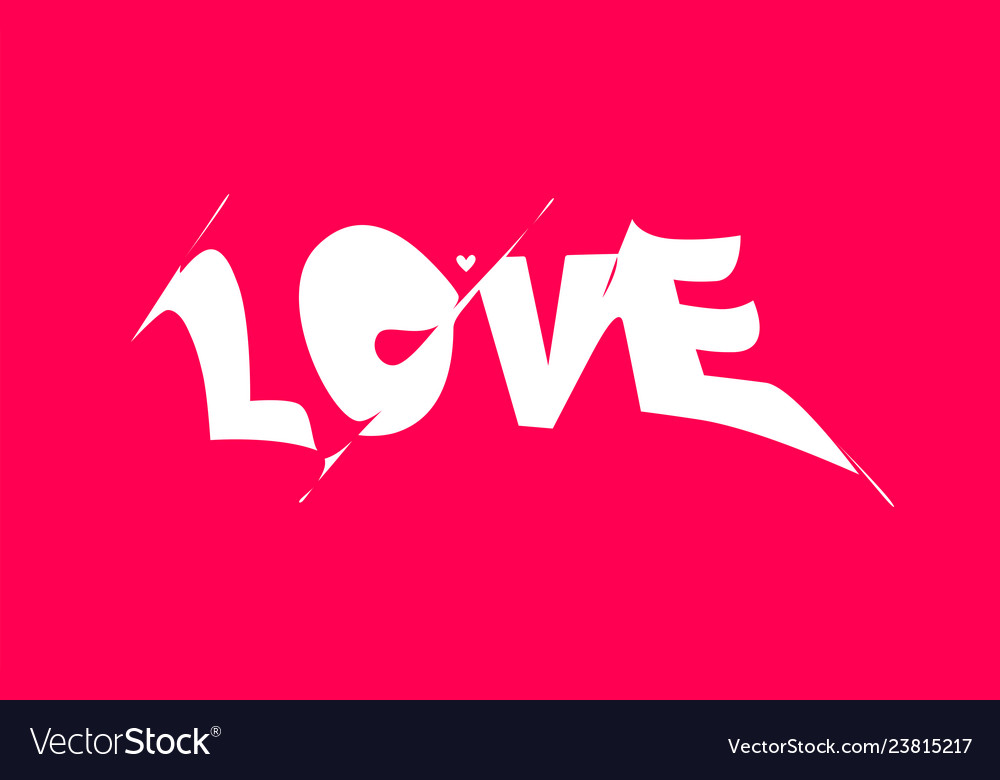 Love banner poster and sticker concept with