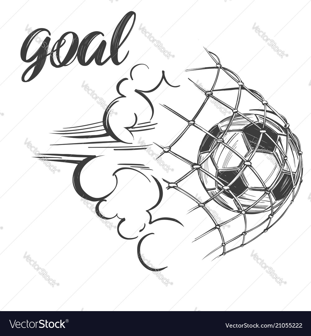 Football soccer ball sports game emblem sign