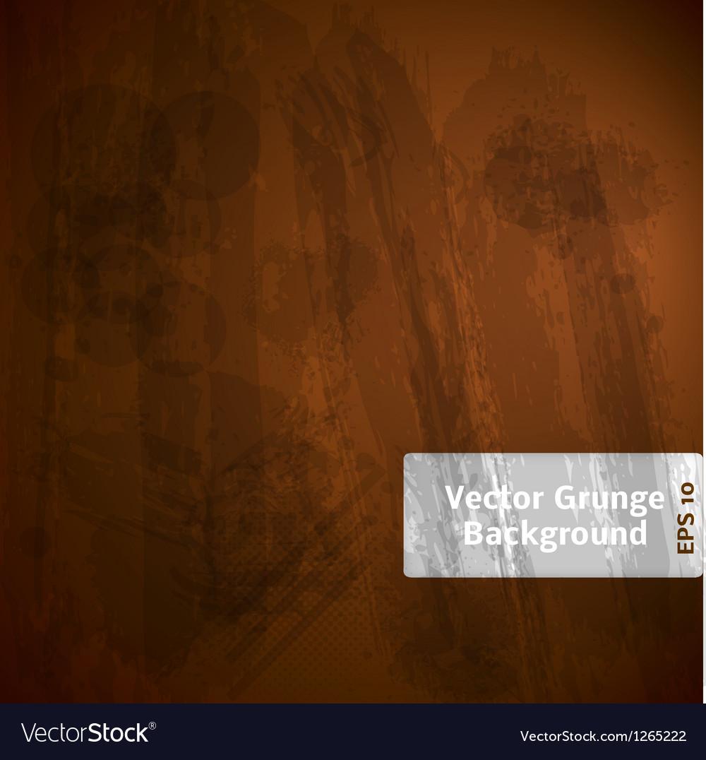 Grunge Dark Background vector image