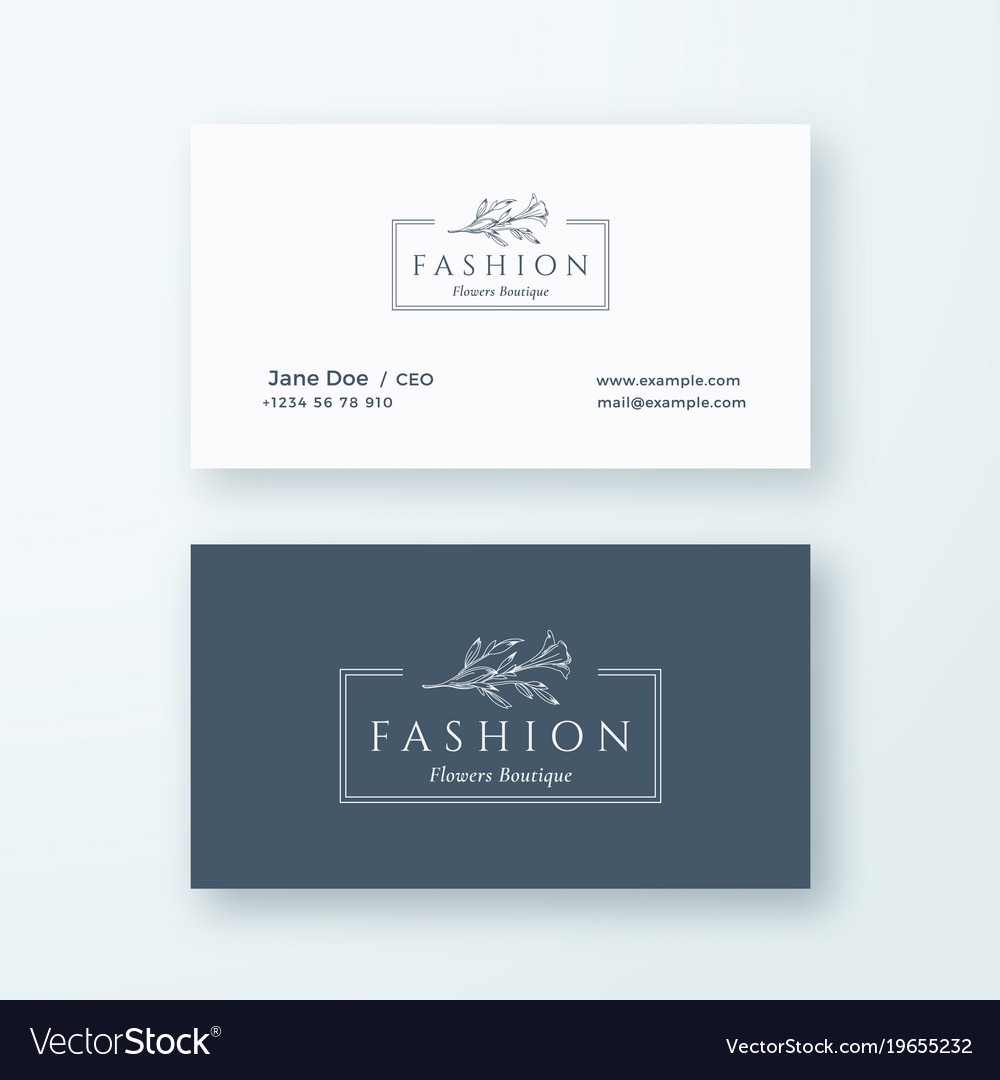 Abstract fashion sign or logo and business