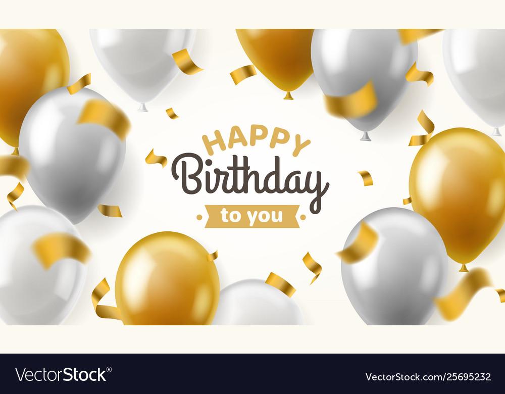 Balloons birthday happy congratulation