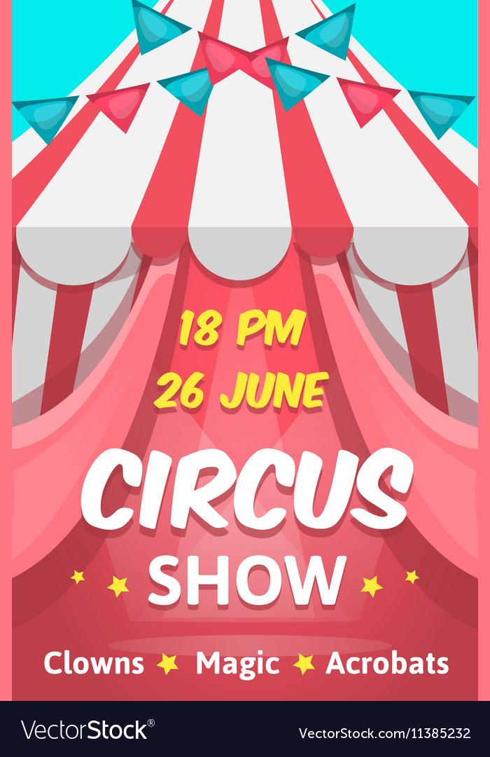 Big Circus Announcement Poster