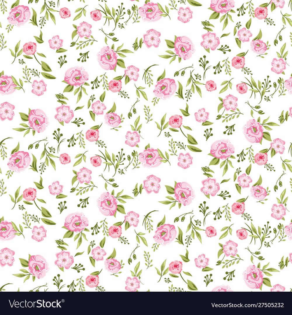 Rose peony flowers seamless pattern texture on