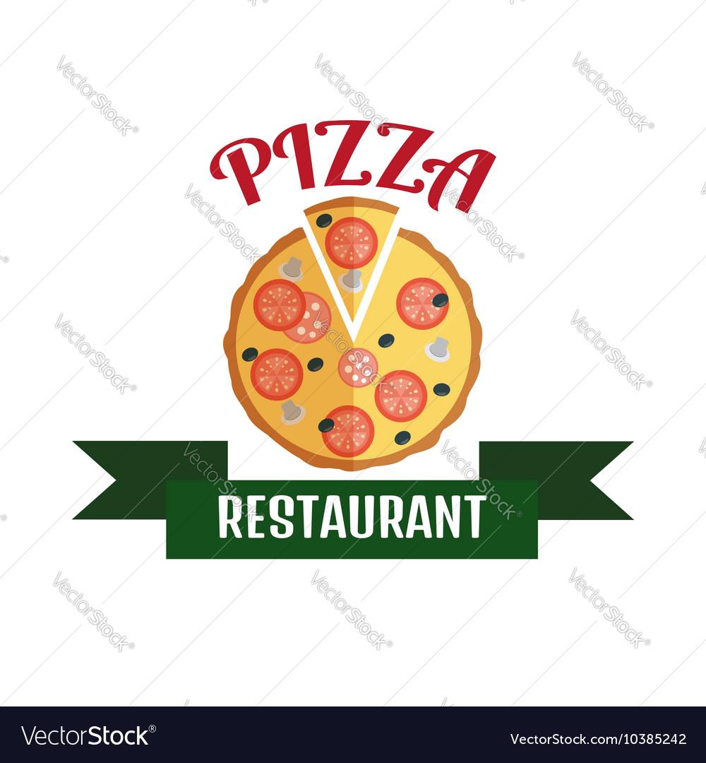 Pizza delivery logo Fast delivery logo Pizza logo