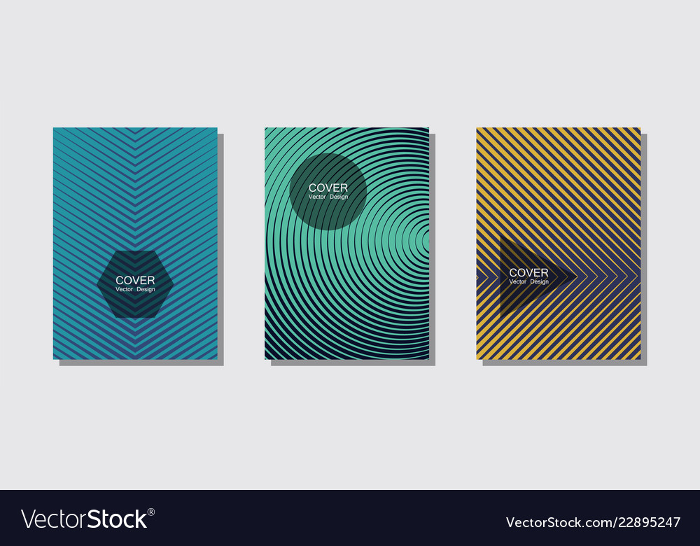 banner graphics cool templates set royalty free vector image