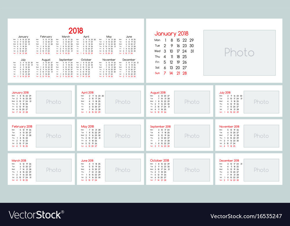 picture about Daily Planner Template identified as Calendar 2018 each day planner template
