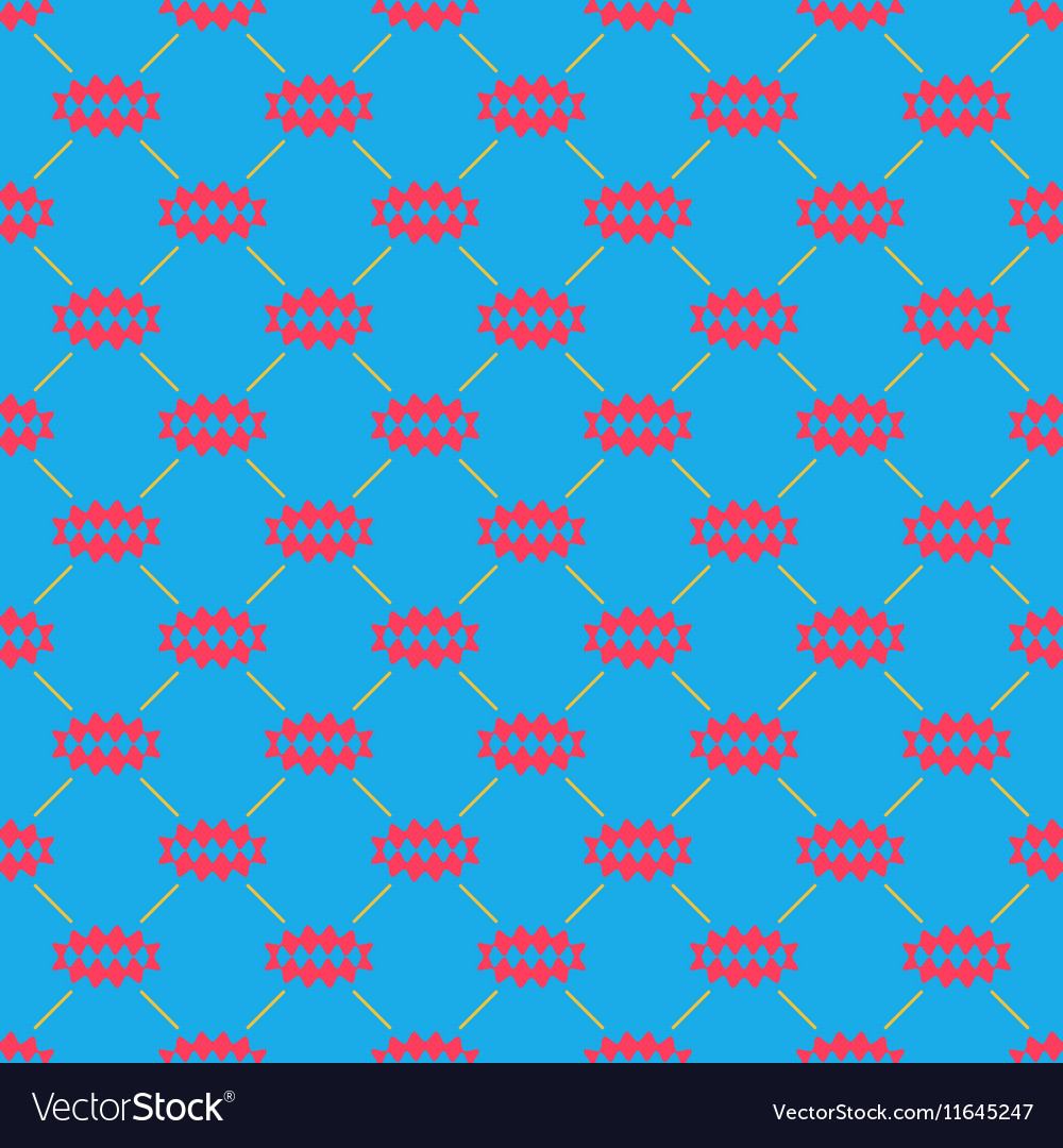 Oval of rhombuses line seamless pattern 4910