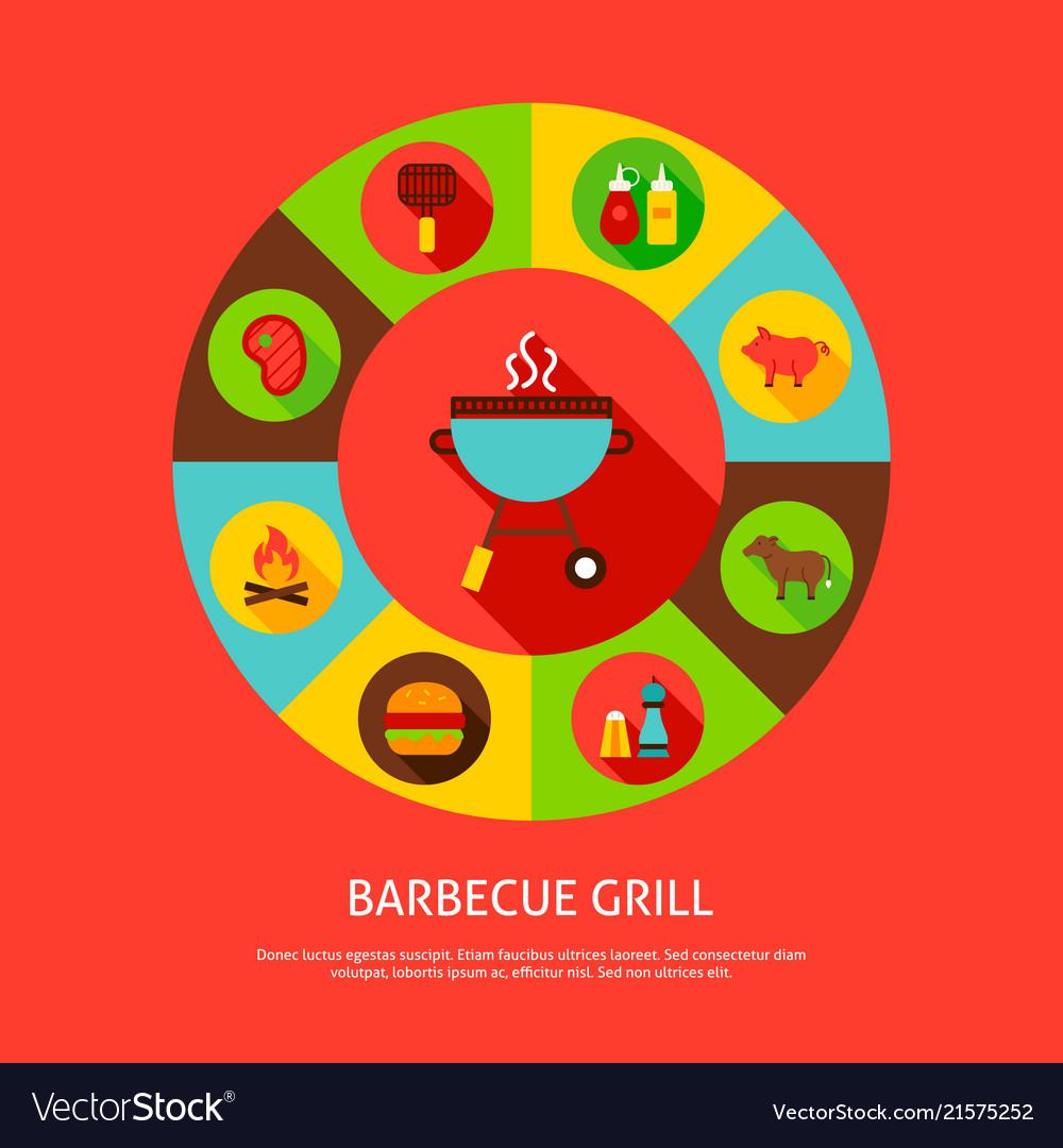 Concept barbecue grill