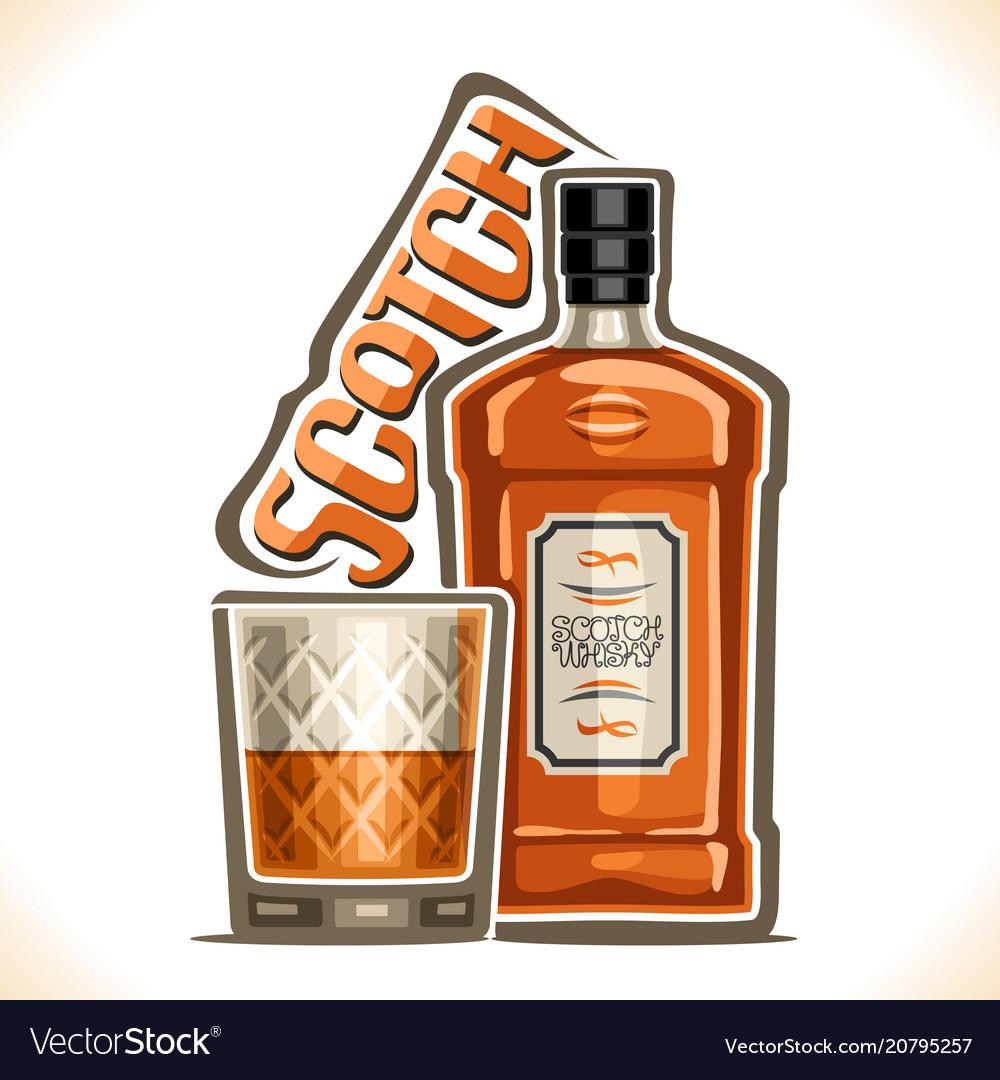 Alcohol drink scotch whisky