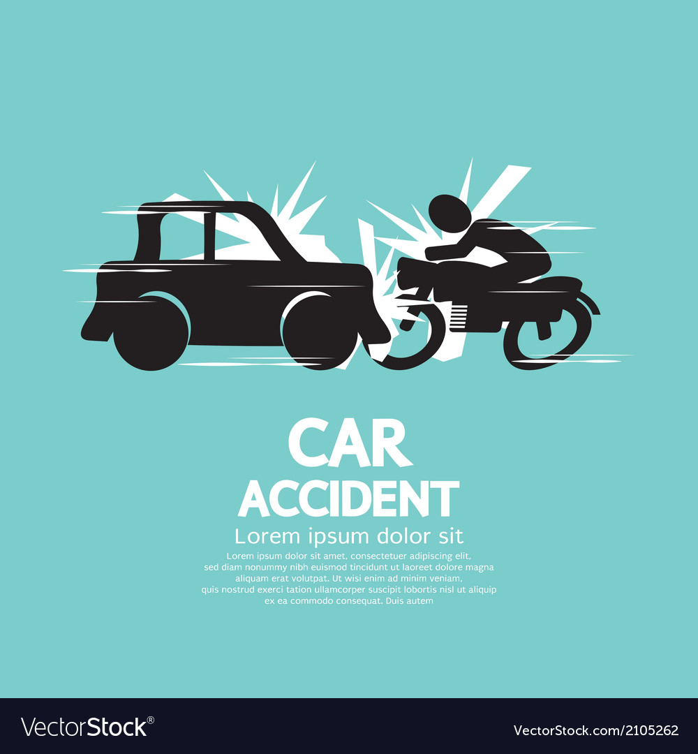 Car Crash With Motorcycle