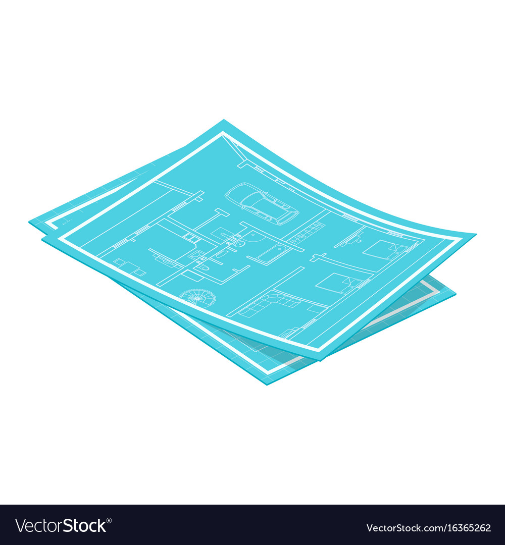 Isometric blueprints