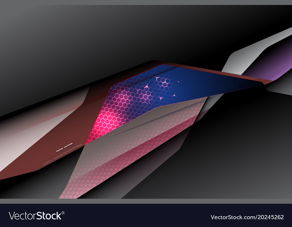Light colors surface scene vector image