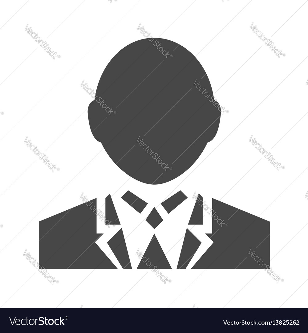 User sign flat icon vector image