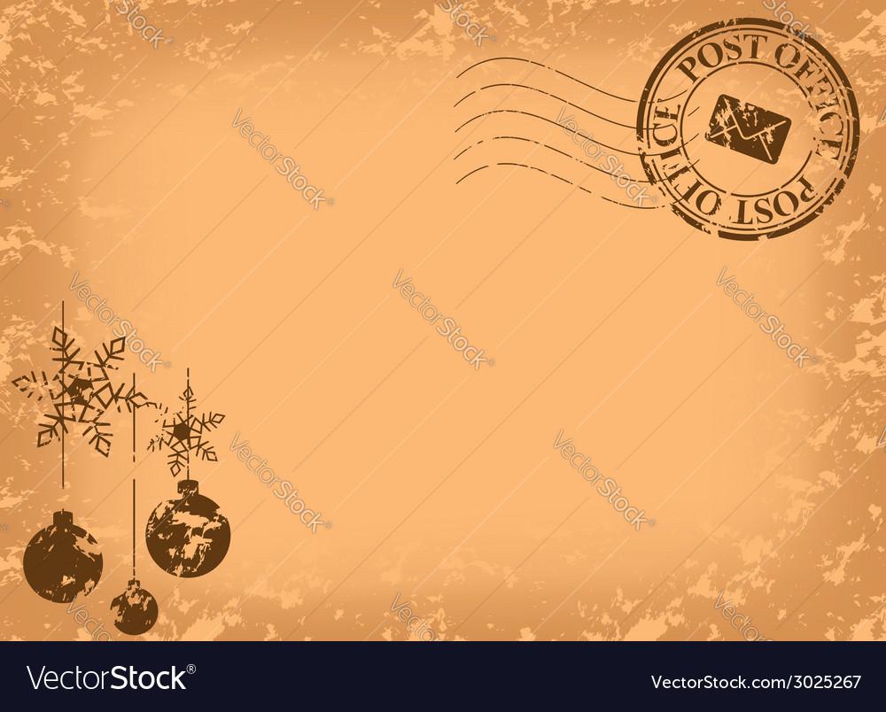 Открытка с маркой вектор, прозрачные открытки