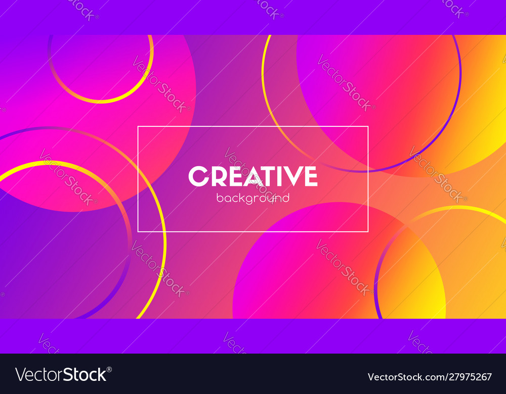 Creative colorful background abstract