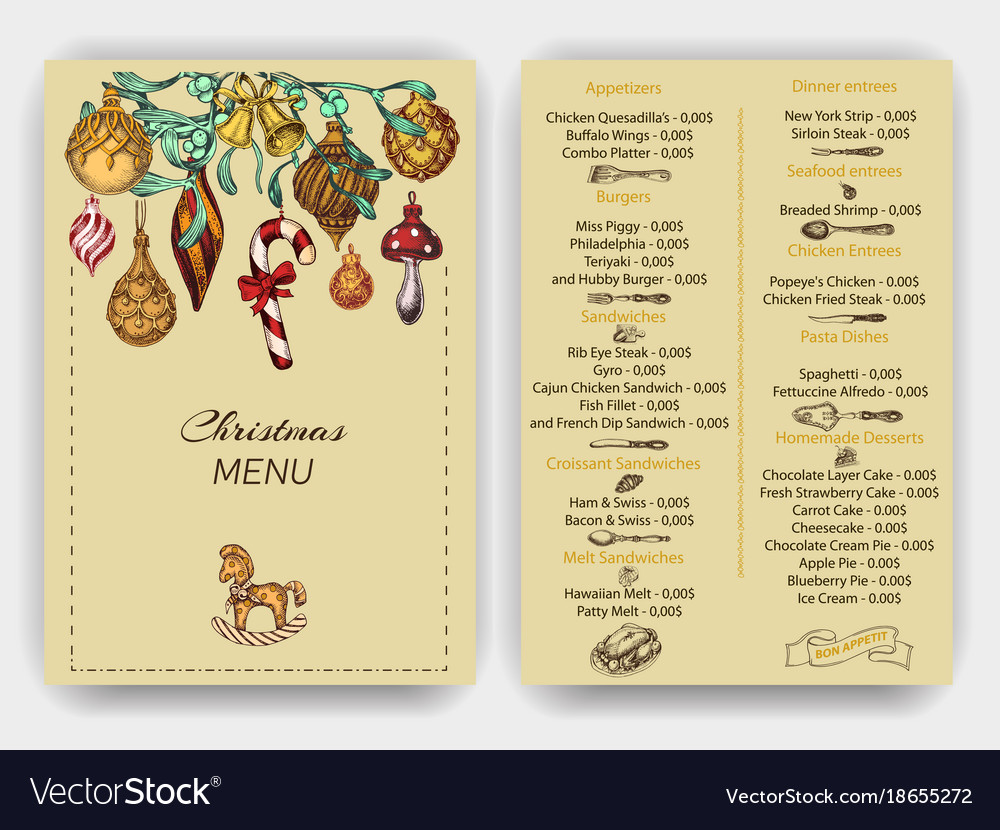 Sketch Greeting Cards And Vector Image On Vectorstock