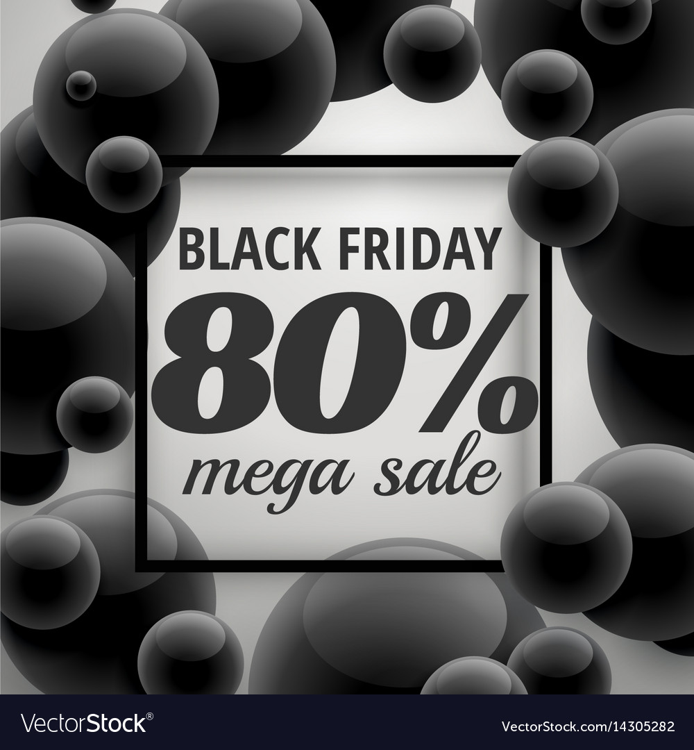 Black friday offer sale poster template with
