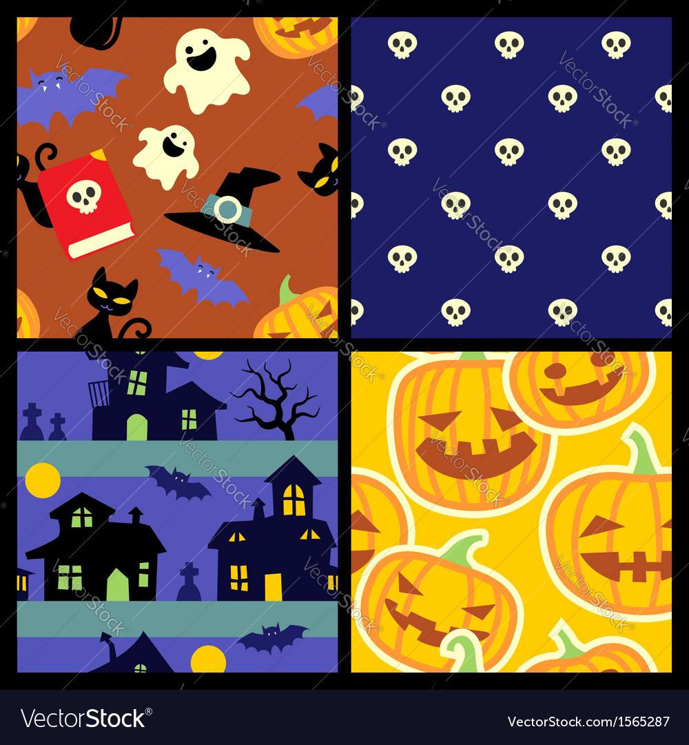 Happy Halloween pattern