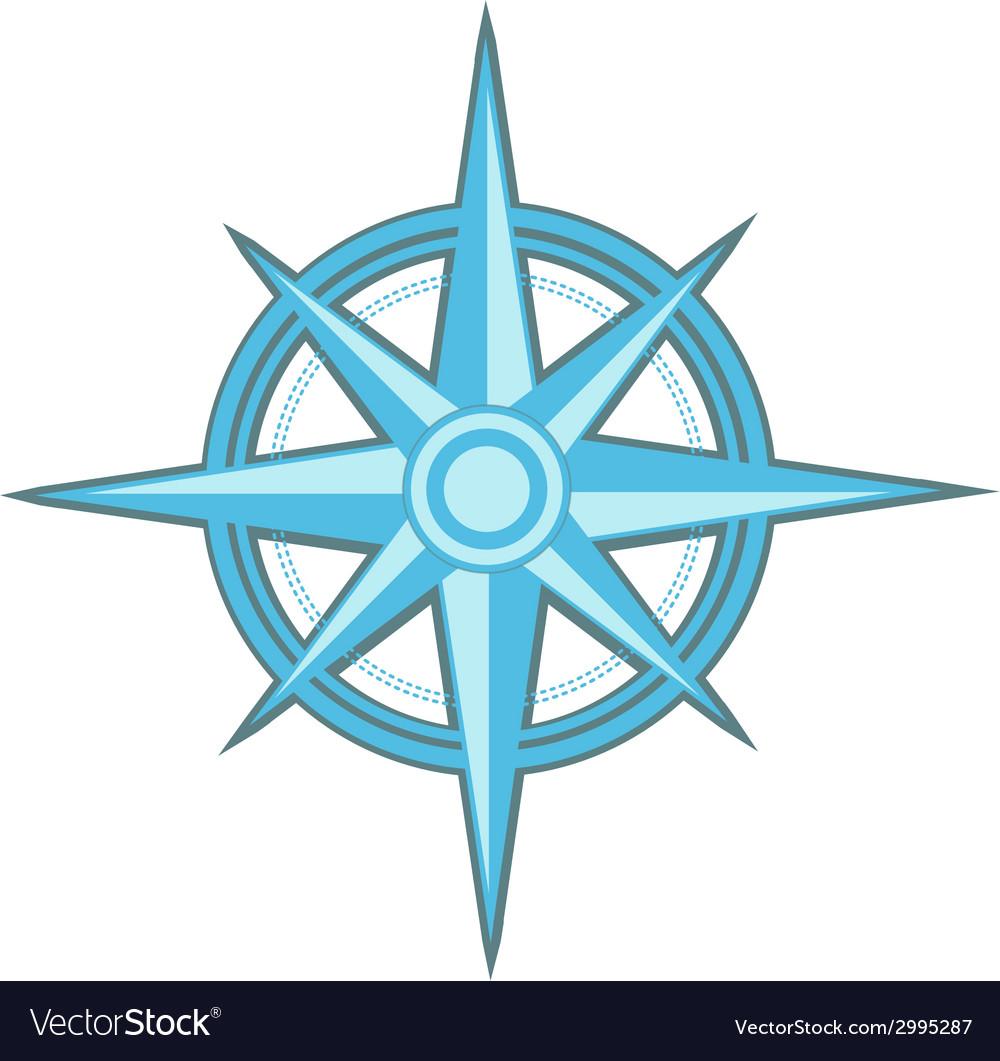 Wind rose - compass star