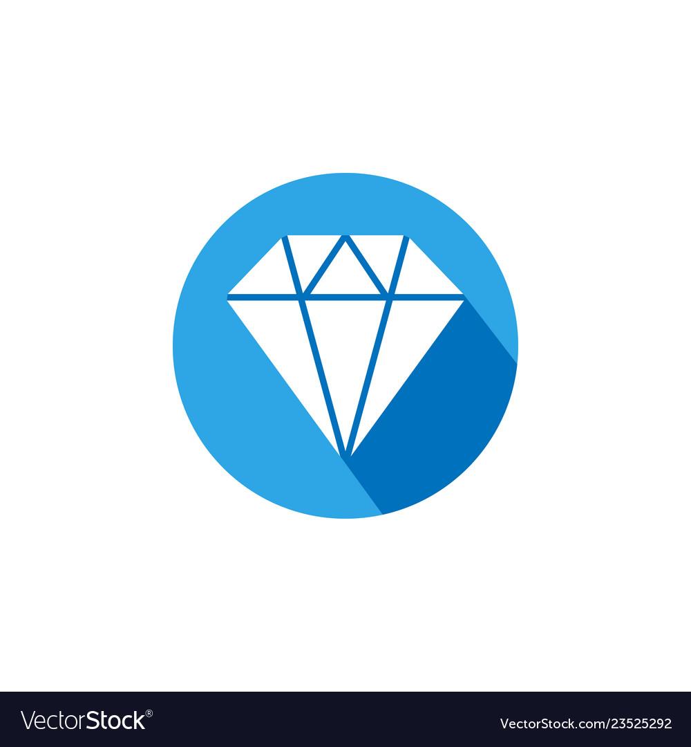 Diamond icon graphic design template
