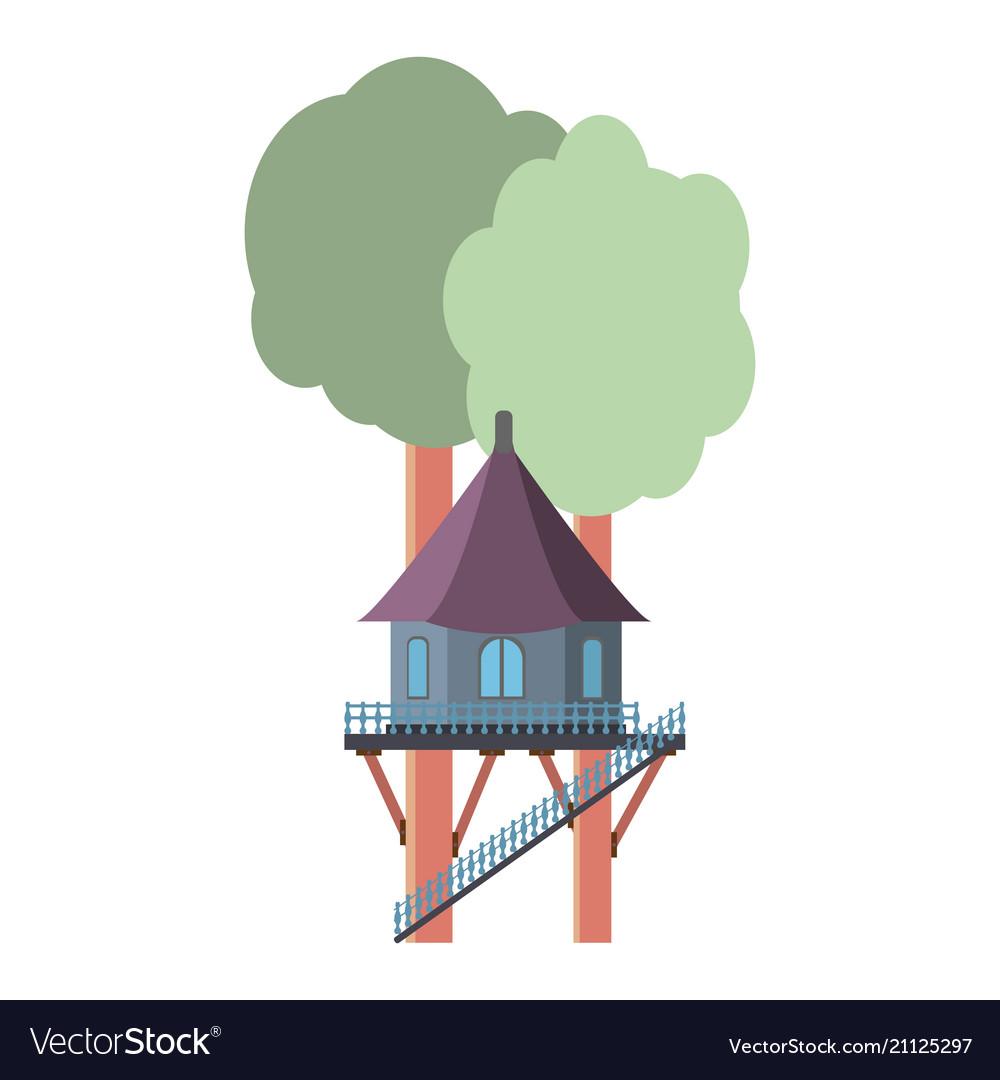 A house on a tree