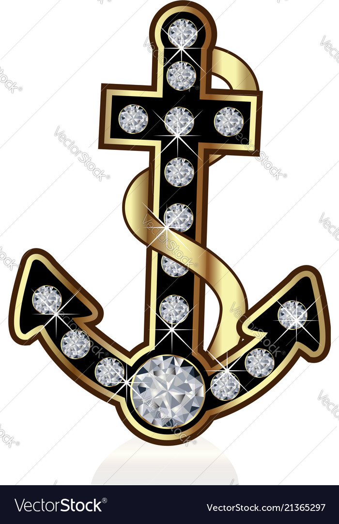 Anchor vessel isolated symbol