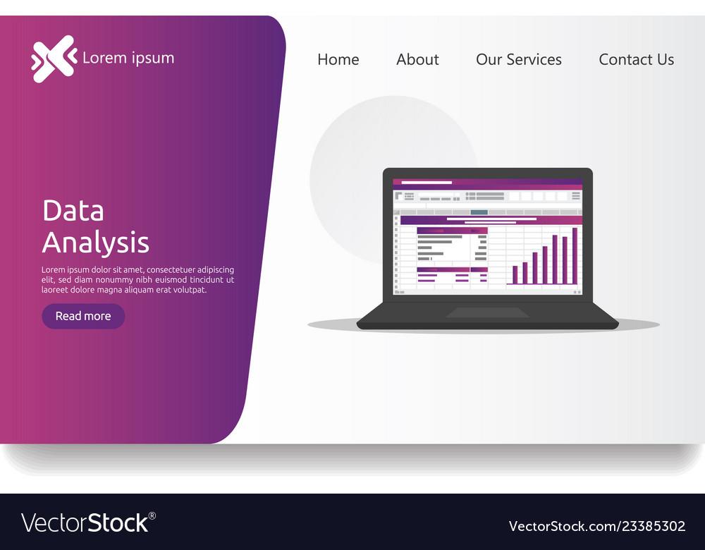 Big data analysis on screen seo analytic