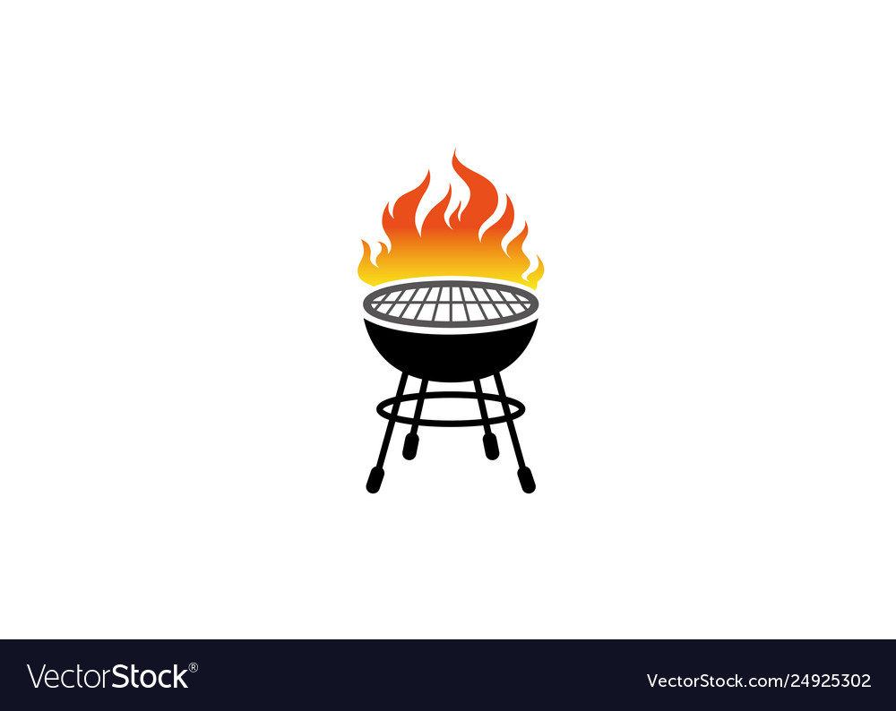 Creative barbecue logo