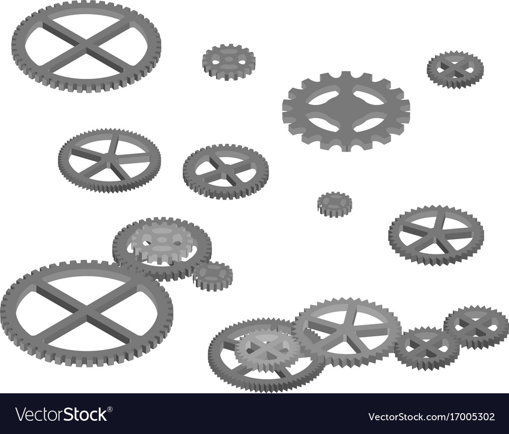 Engine gears for industrial design