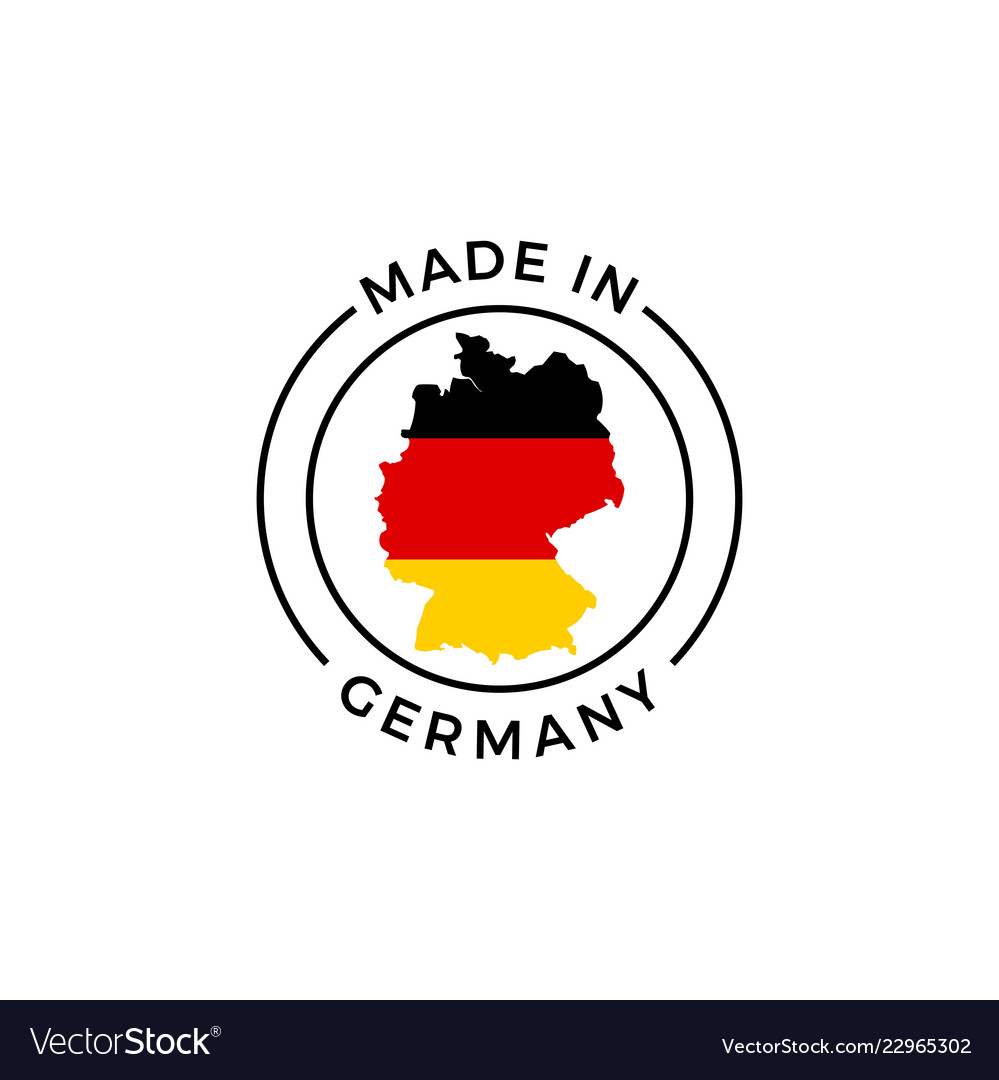 Made in germany label icon of german flag map German Flag Map on german flags of the world, germany map, state flags map, rhine river map, england map, german stereotypes, german world war 1 map, german state flags,