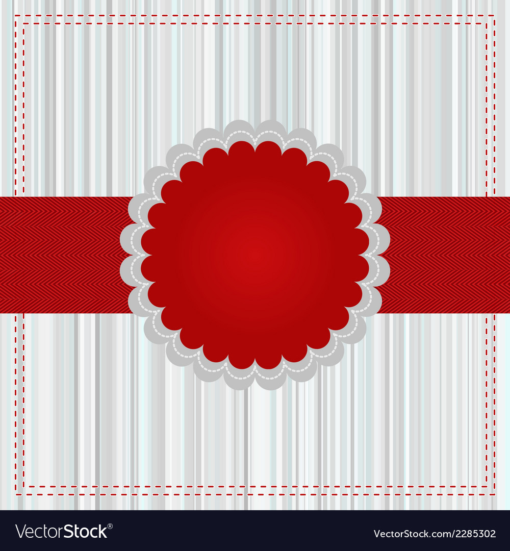 Merry Christmas Greeting Card EPS 8 vector image