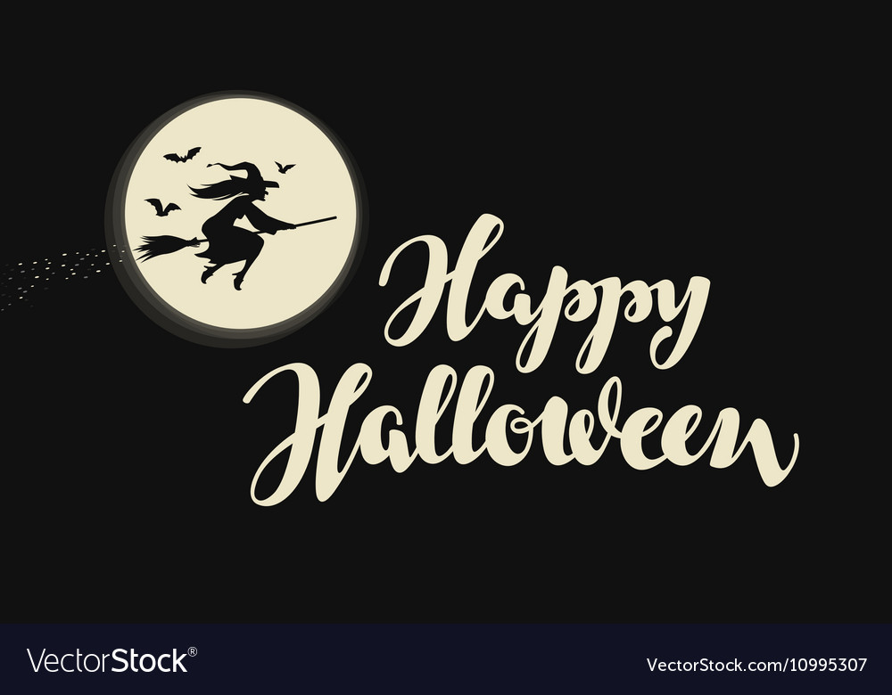 Happy Halloween banner or greeting card