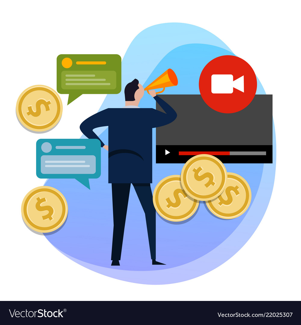 The concept of monetization of the video making