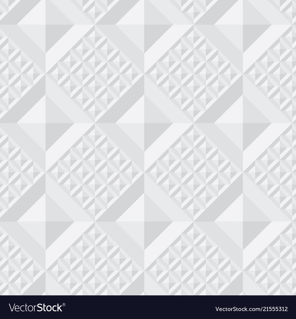 Concept light gray geometry seamless pattern