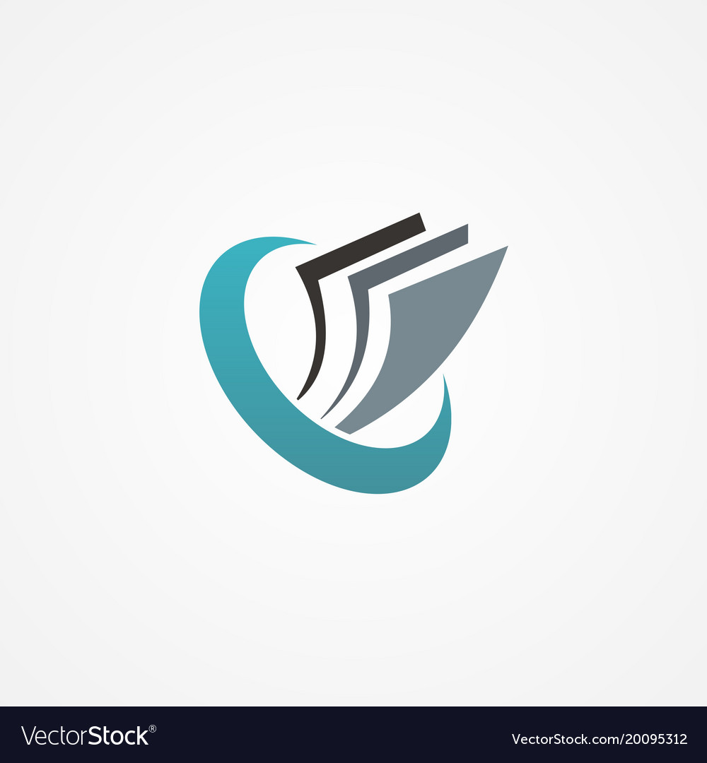 Paper data office business company logo