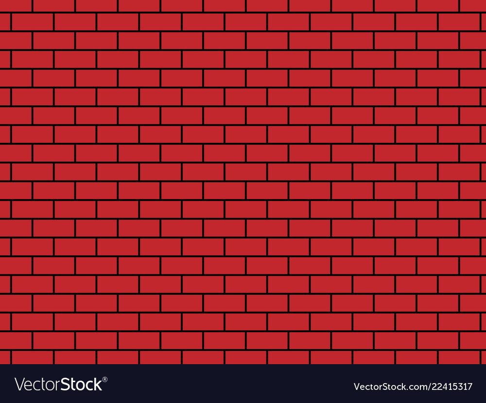 Background - brick red colore