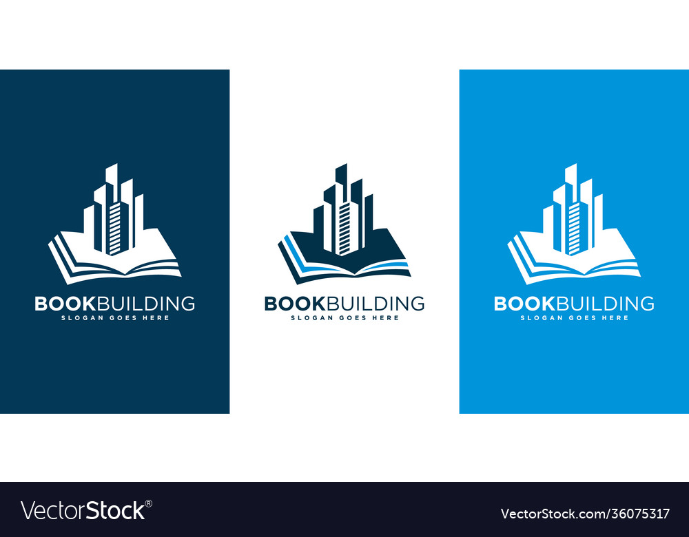 Book building logo design