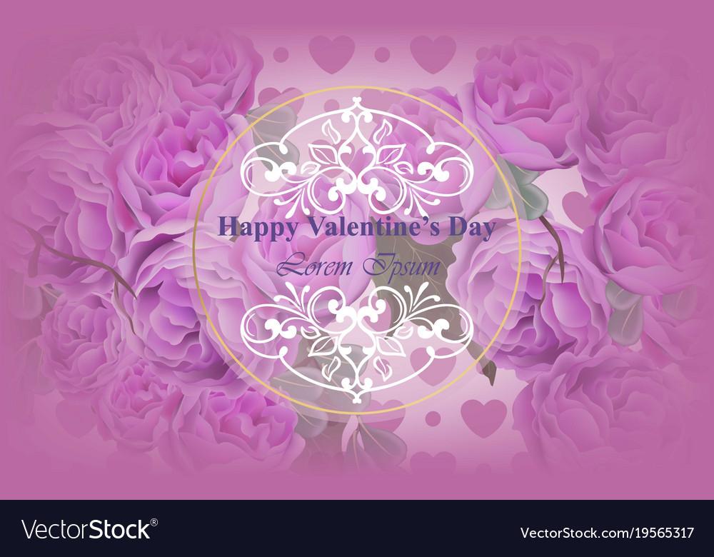 Peonies flowers pink card background royalty free vector peonies flowers pink card background vector image mightylinksfo