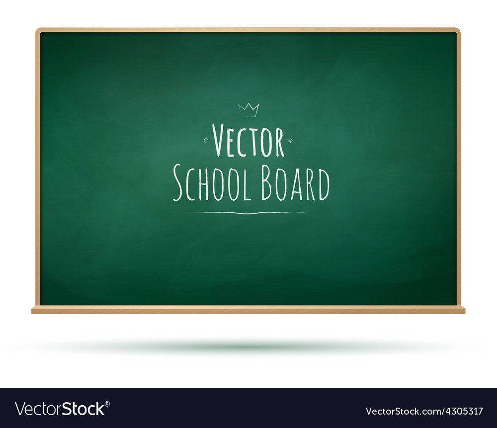 School board background vector image