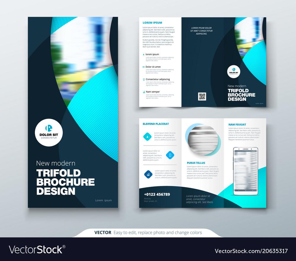 tri fold brochures design