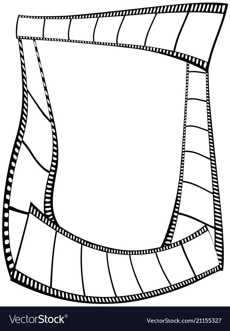 Film strips frame
