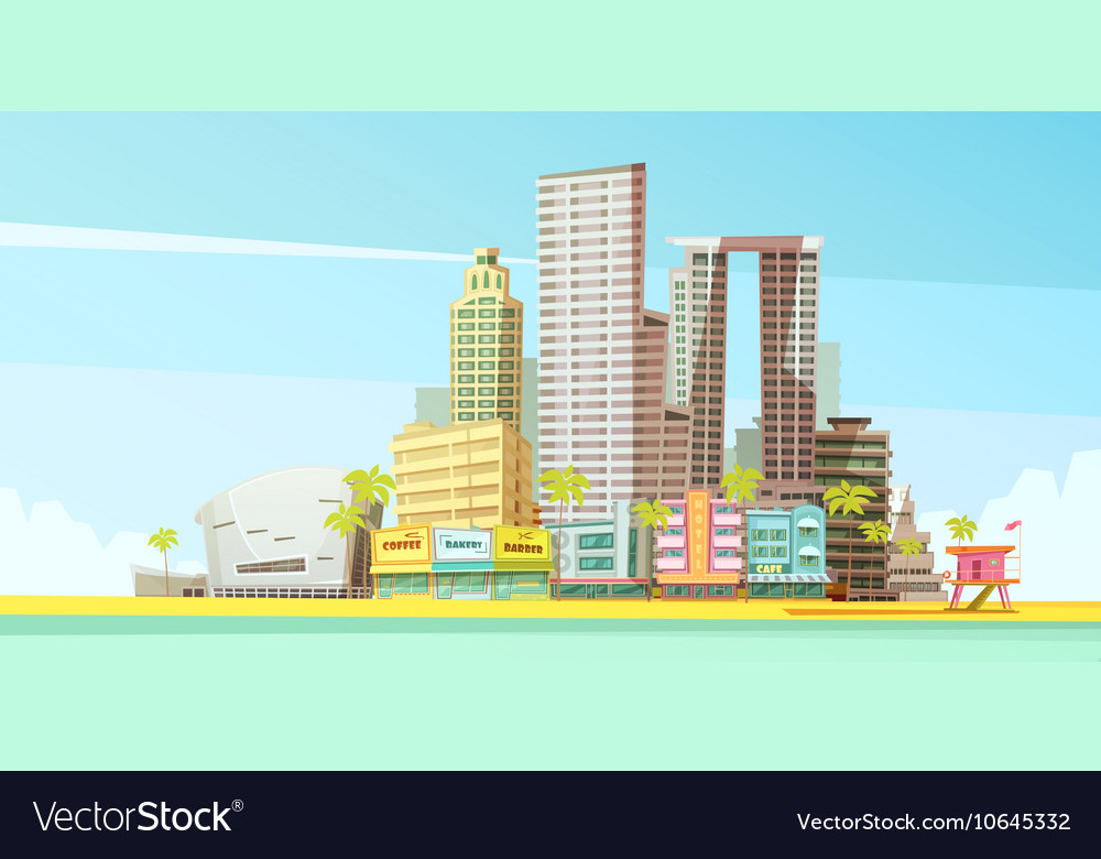 Miami Skyline Design Concept