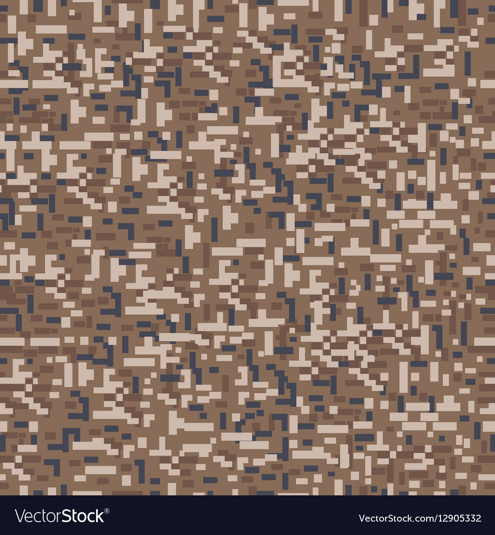 Military camouflage seamless pattern