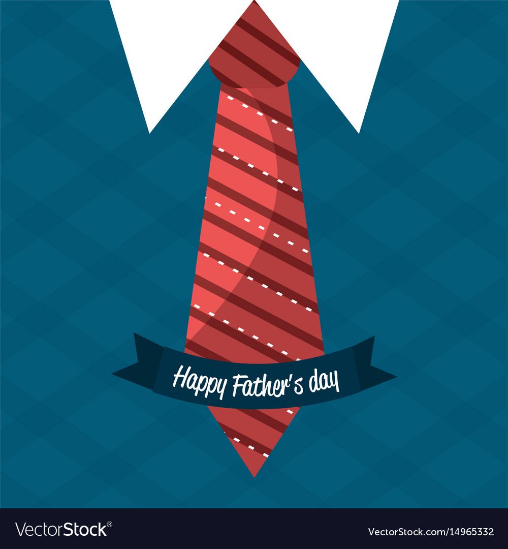 Nice card with tie shirt and vest design