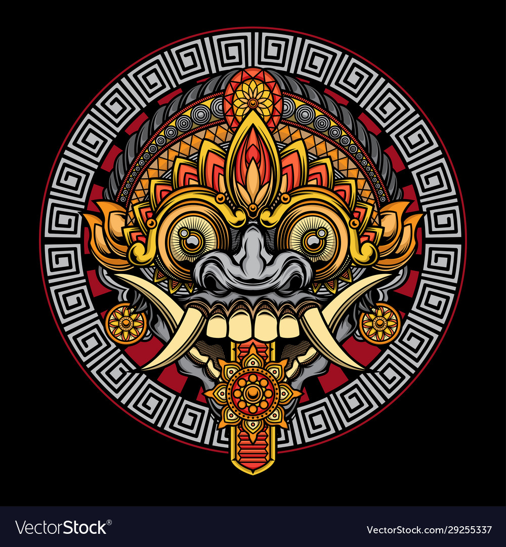 Rangda mask design