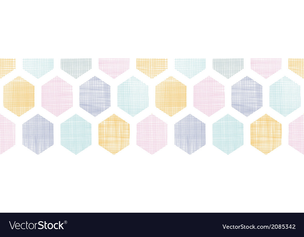 Abstract colorful honeycomb fabric textured